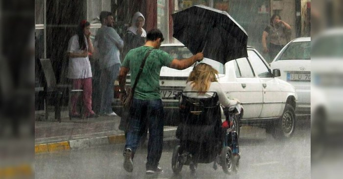 Esos momentos de bondad captados en una imagen