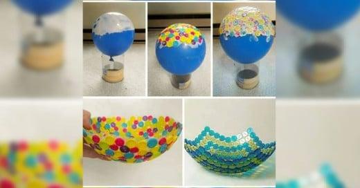 Los globos no solo son decorativos aqui una muestra de como podemos utilizarlos para hacer cosas creativas