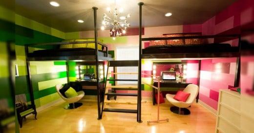 """""""5 grandes ideas para divir una pequeña habitación"""