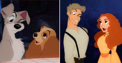 Una gran comparación de cómo serían los personajes si fuesen humanos