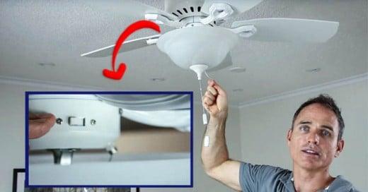 Muy pocas personas saben que la función de un botón que viene en nuestros ventiladores