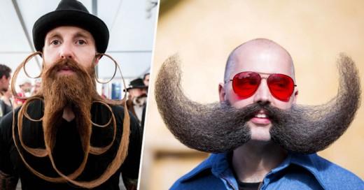 Una gran competencia de barbados y bigotones