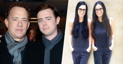 La muestra que los hijos de estas celebridades son clones de ellos