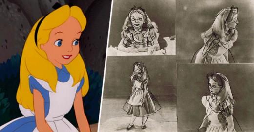 La niña que inspiro los trazos de los creadores de alicia de Disney