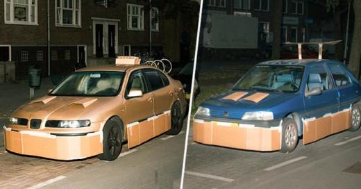 Max Siedentopf y su nuevo proyecto de tunear carros de desconocidos por la noche y con solo cartón