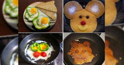 Gente que hace su mejor esfuerzo en la cocina