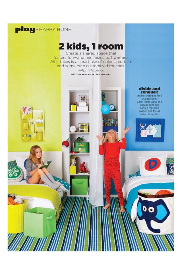 25 ideas para habitaciones compartidas por ni os y ni as - Habitaciones infantiles unisex ...