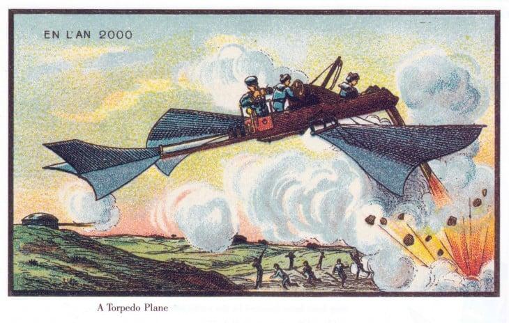 ilustración que muestra una guerra en Francia 2000