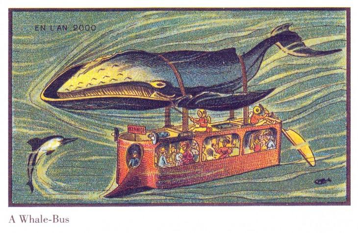 submarino jalado por una ballena en Francia 2000
