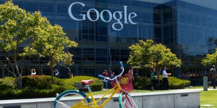 instalaciones externas de las oficinas de Google
