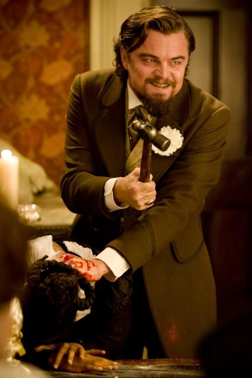 Leonardo Dicaprio en una escena de la película django