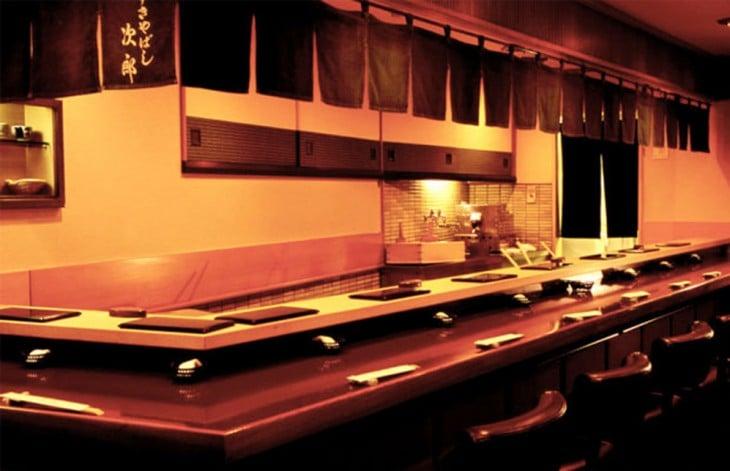 Restaurante de Jiro en Tokio