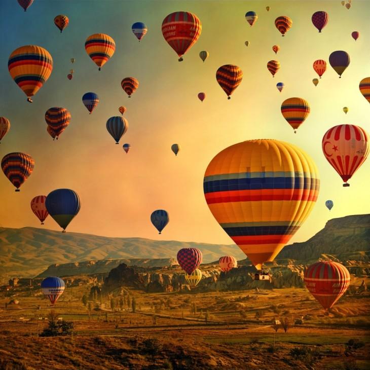 Paseo en globo en Capadocia, Turquía