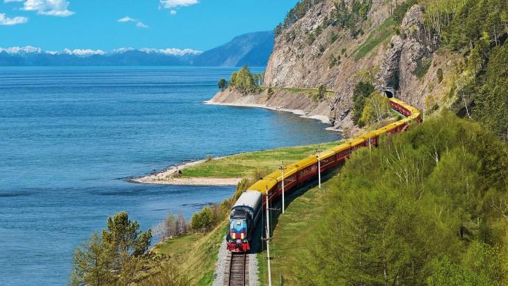 Tren transiberiano de Rusia