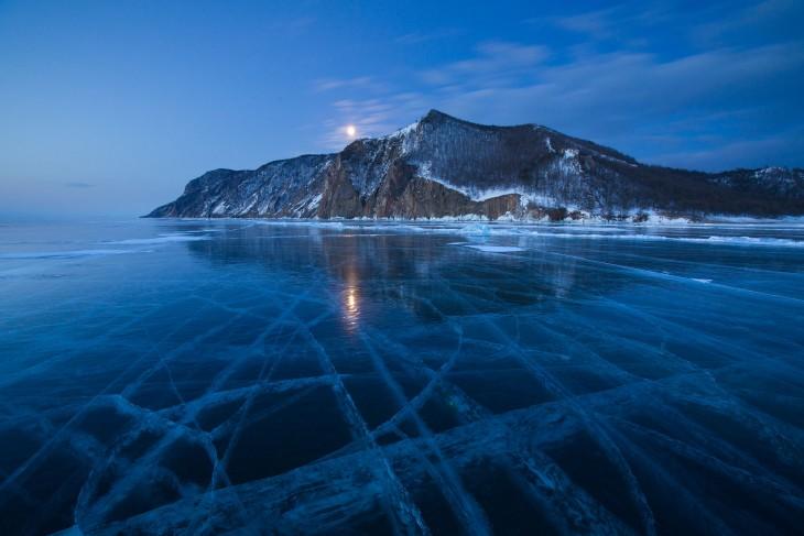 Lago Baikal, Rusia en invierno
