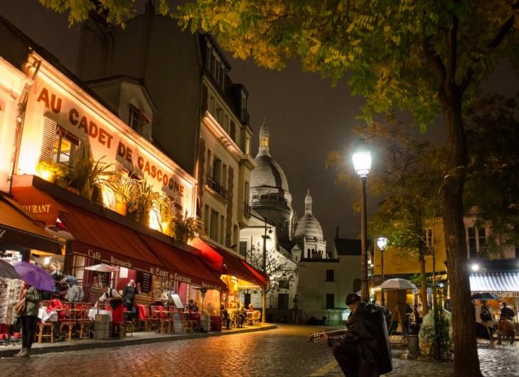 Café Au Cadet de Gascogne en Montmartre en París