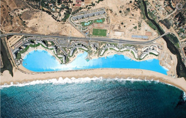 Piscina en San Alfonso del Mar en Chile es considerada la piscina más grande del mundo