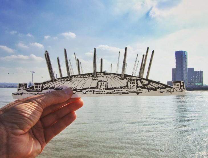 Millennium Dome em Londres