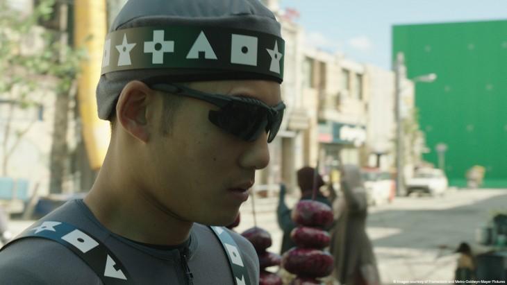cara de un personaje que aparece en la película de Robocop