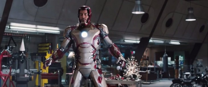 efectos especiales de una escena de la película de Iron Man