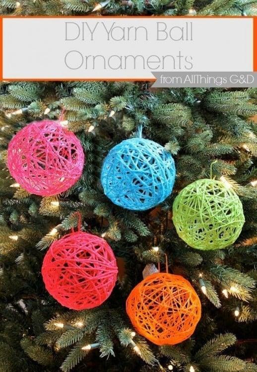 esferas para el árbol de navidad