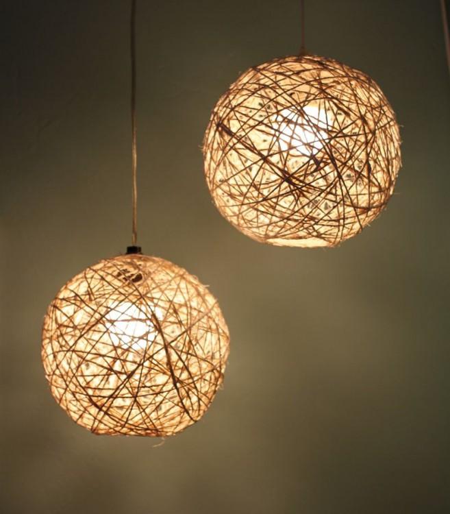 lámparas de techo con cadena