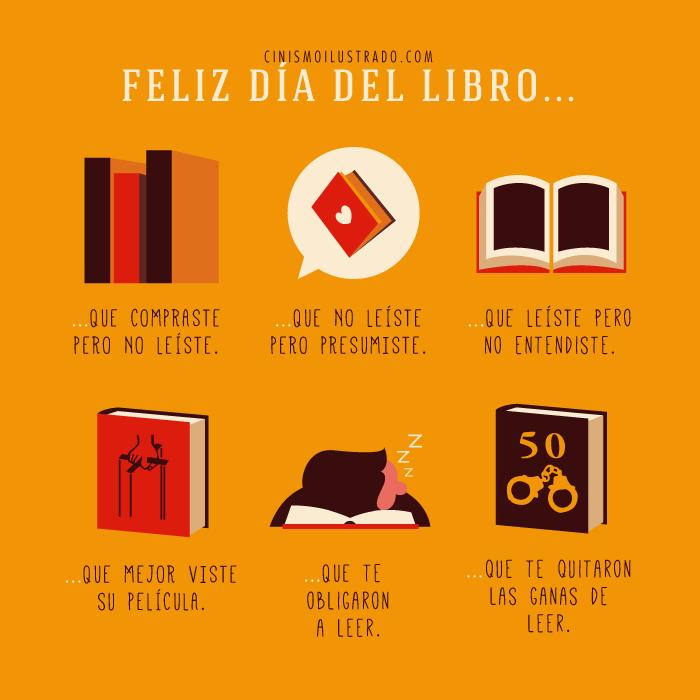 ilustración de Eduardo Salles que muestra la realidad de los libros