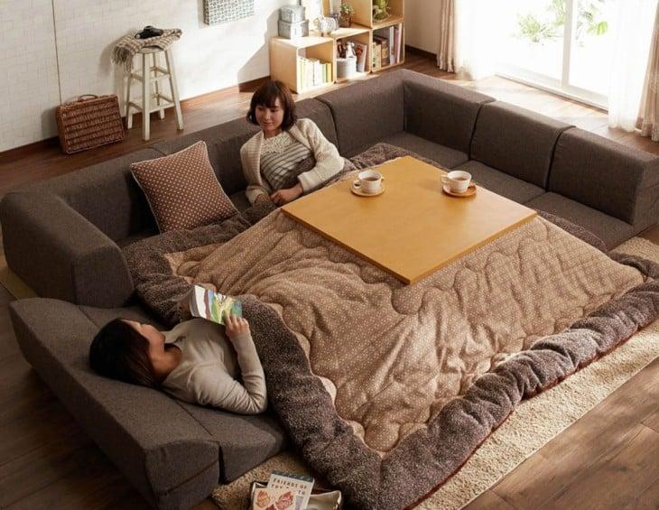 kotatsu estilo moderno