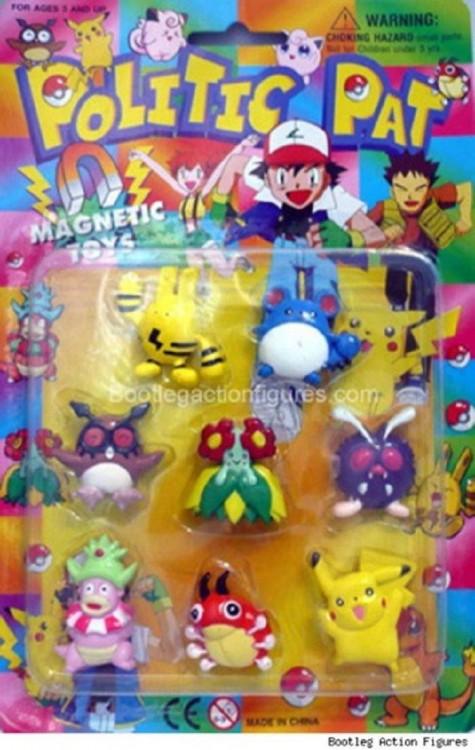 juguetes imitación de Pokémon con el nombre de Politic Pat