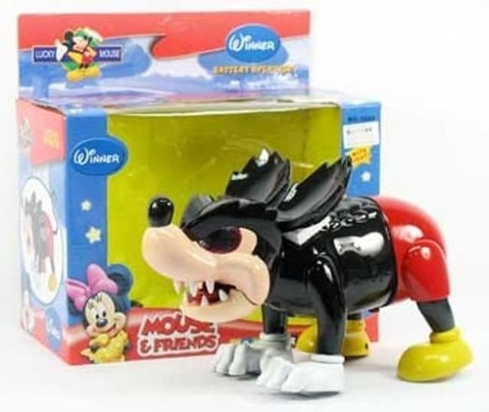 juguete de Mickey Mouse pirata