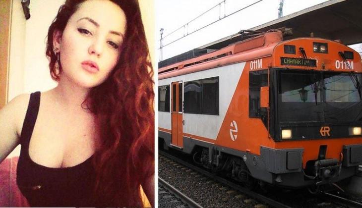 chica muere electrocutada en una selfie arriba de un tren
