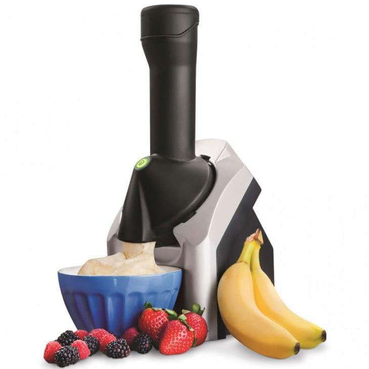 máquina procesadora para batidos de fruta