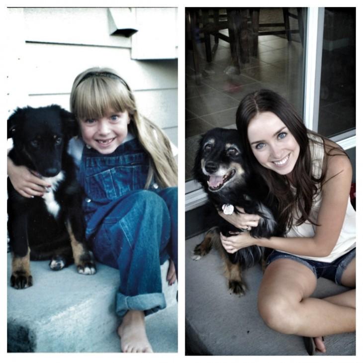 ...Bellos cachorros ¡crecieron muy rápido!