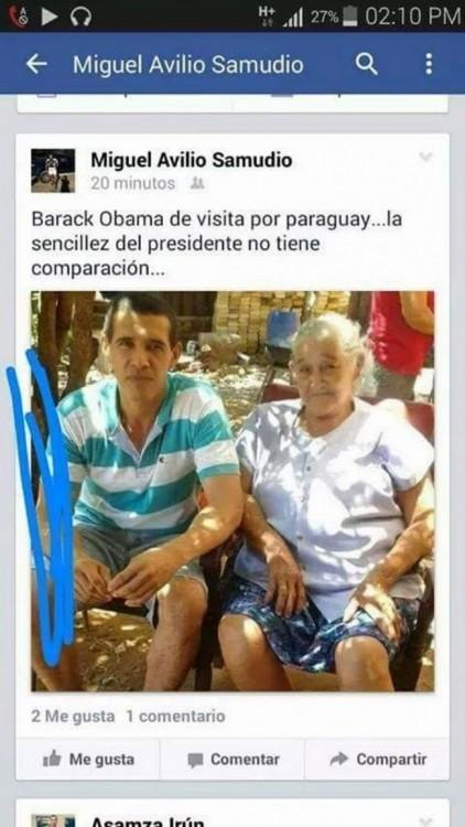 Barack Obama é paraguaia