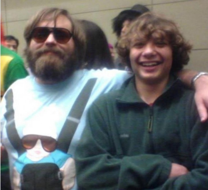 Zach Galifianakis pirata