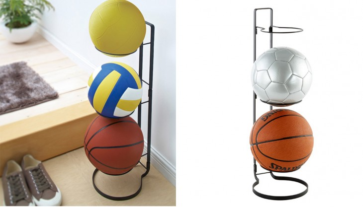 soporte para organizar balones