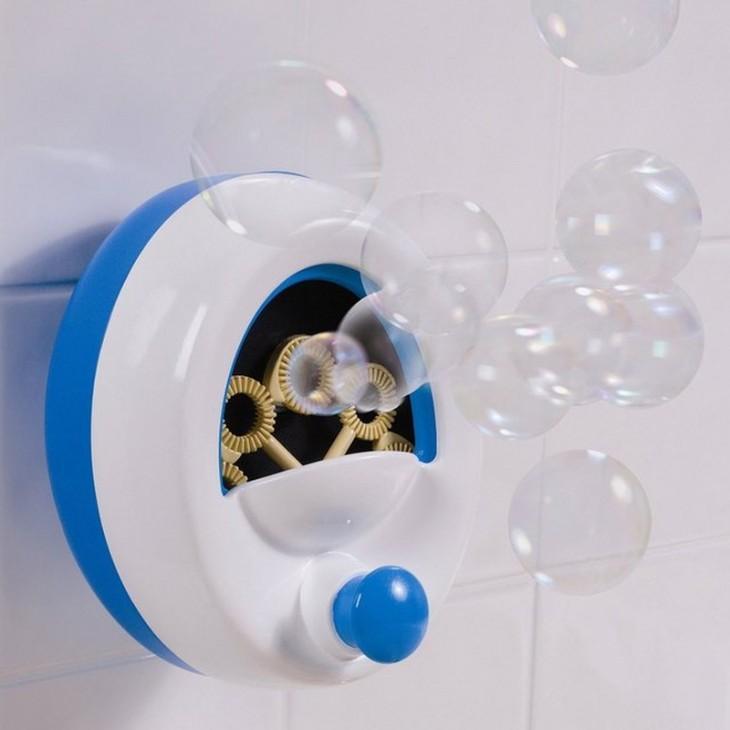 pompero para poner burbujas durante la ducha