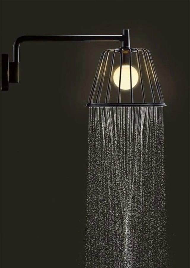 Regaderas Para Baño De Telefono:regadera de baño moderna con luz propia