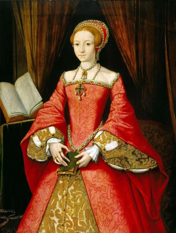 Pintura de la Reina Isabel l