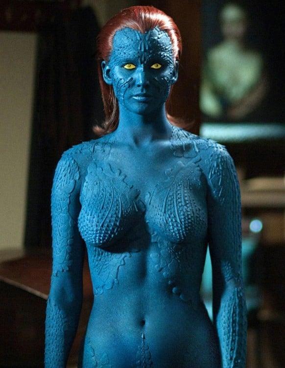Mystic personaje de las películas X-Men
