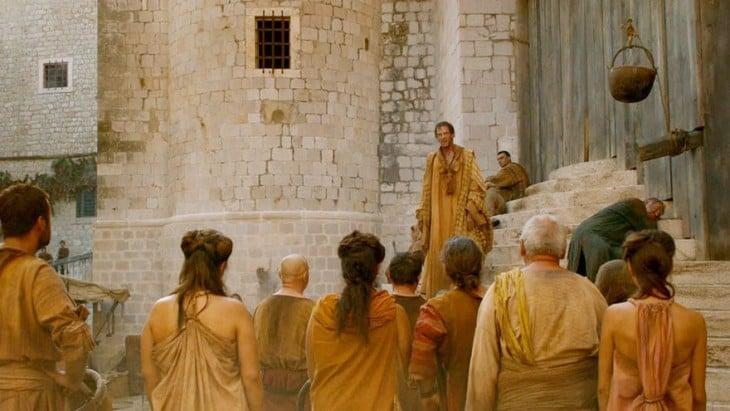 escena de la serie de HBO Game Of Thrones