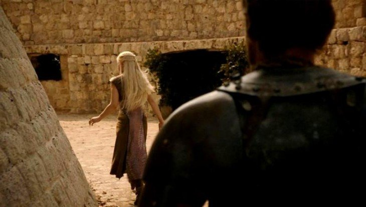 escena de la serie de Game Of Thrones