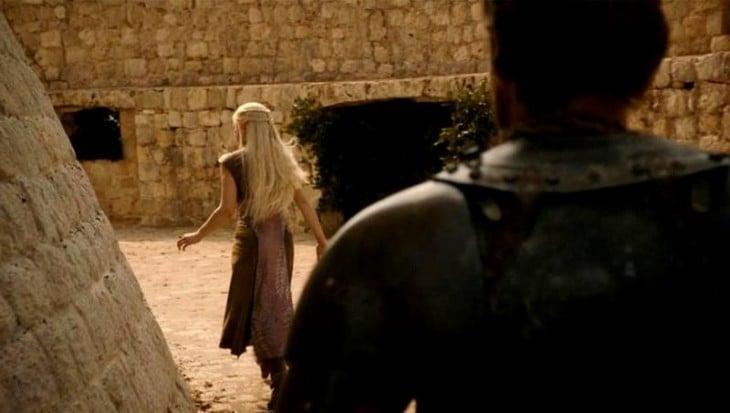 escena de la serie de Game Of Thrones