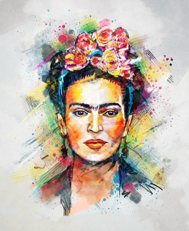 FRIDA EN POP ART