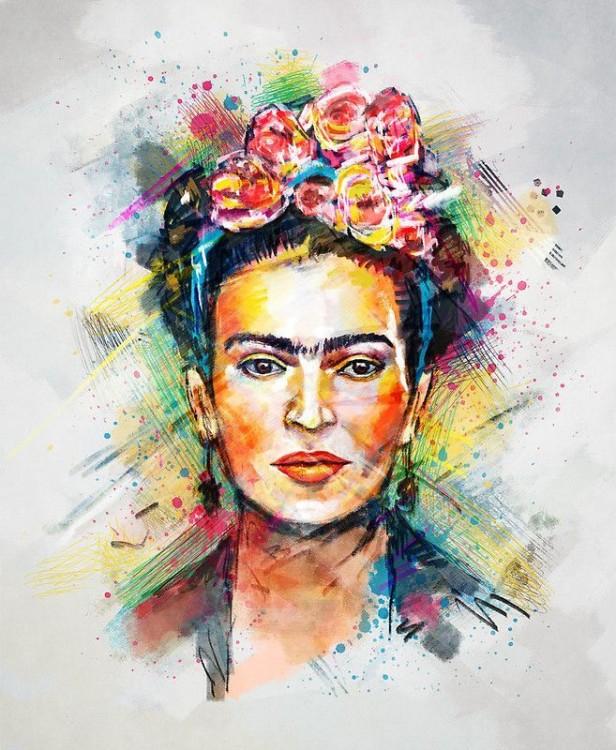 FRIDA EN POP ART