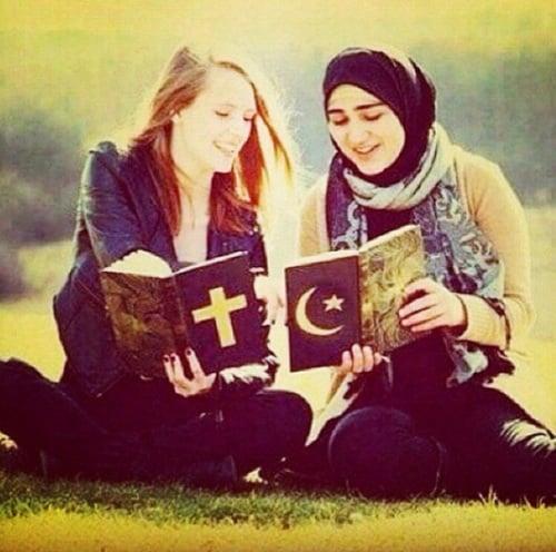 comparación de las ideas religiosas