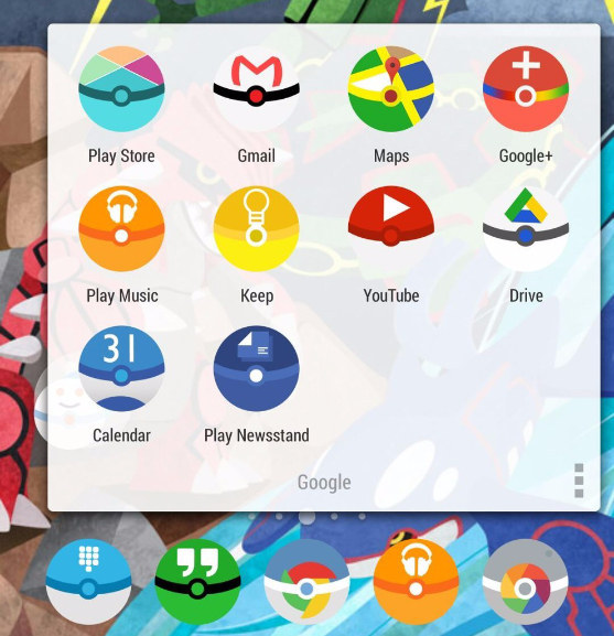 instalacion de iconos personalizados