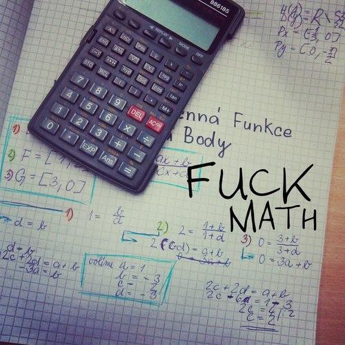 odio las matemáticas meme