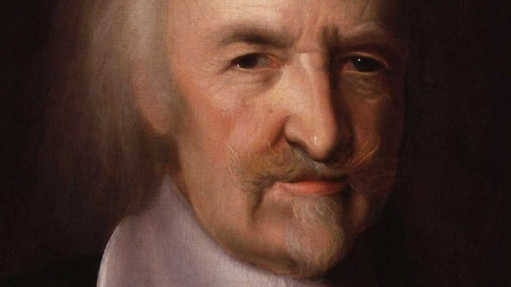 retrato de Thomas Hobbes
