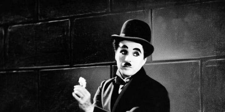 RETRATO DE Charlie Chaplin